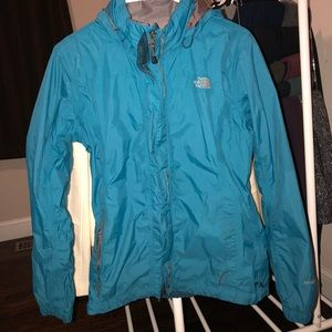 North face raincoat, medium